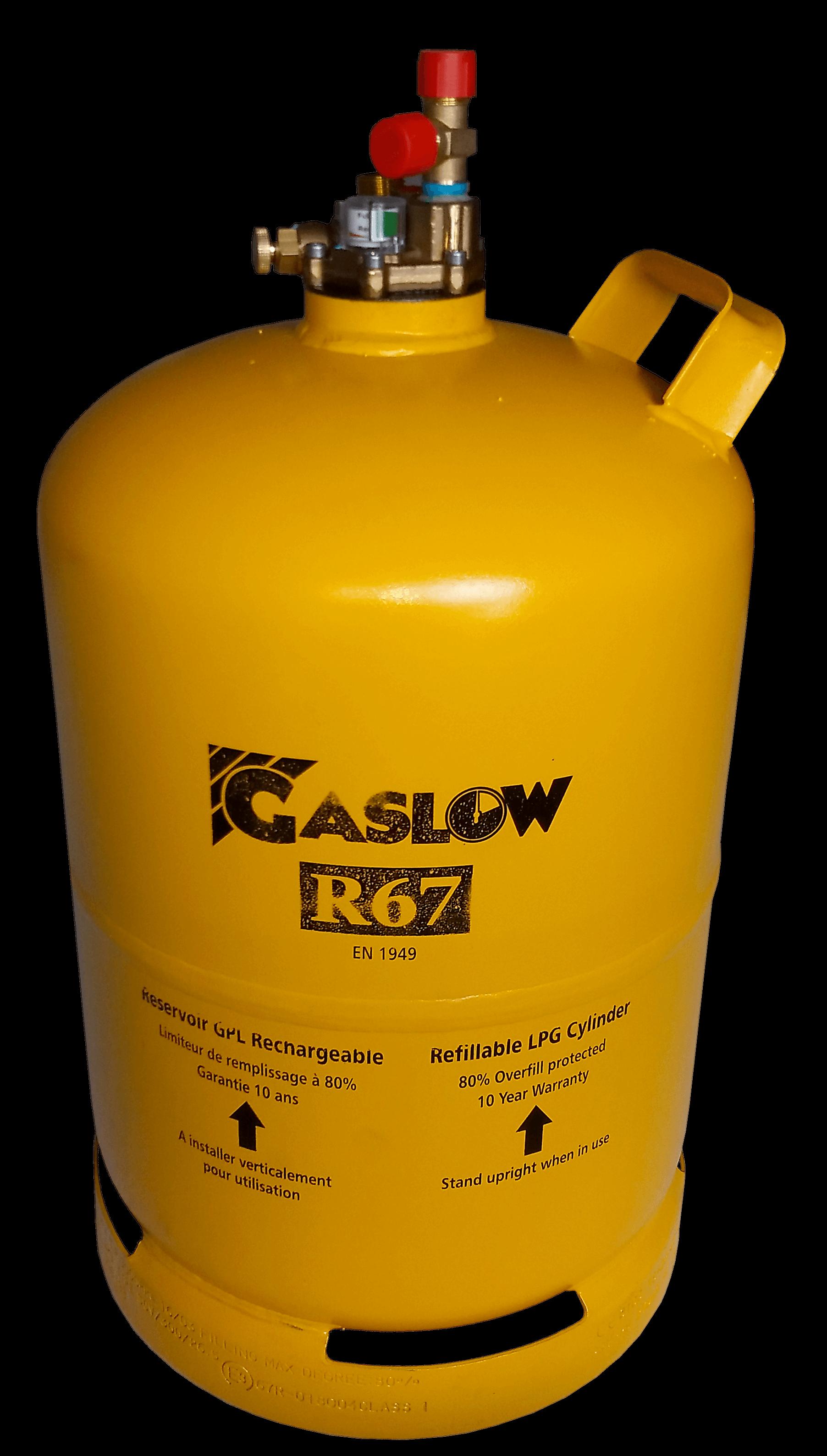 Réservoir GPL rechargeable n° Gaslow